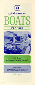 OMC 1965 Johnson Boat Brochure