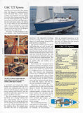 C&C 121 Sail Magazine Reprint Brochure