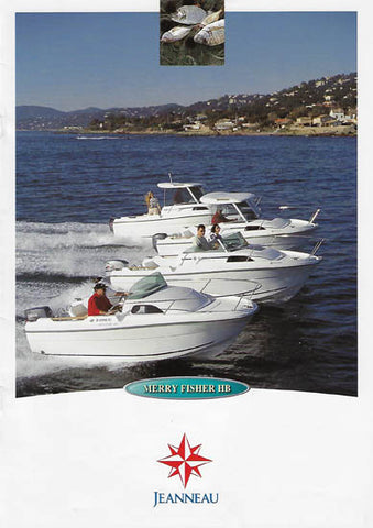 Jeanneau 2000 Merry Fisher Brochure