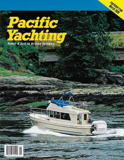 Camano Troll Pacific Yachting Magazine Reprint Brochure