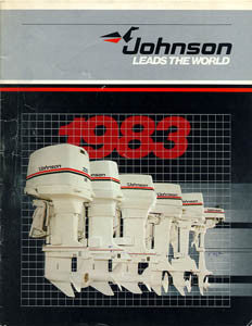 Johnson 1983 Outboard Brochure