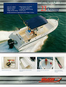 Boston Whaler Outrage 23 Brochure