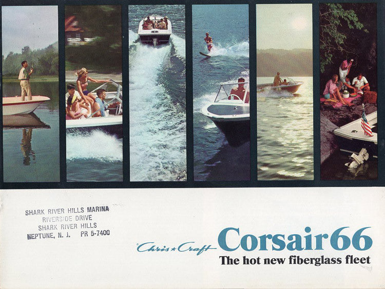 Chris Craft 1966 Corsair Brochure