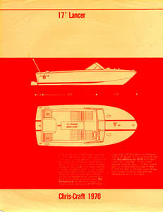Chris Craft Lancer 17 Specification Brochure