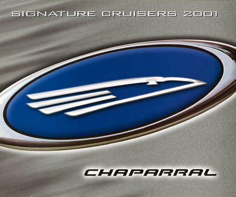 Chaparral 2001 Signature Cruisers Brochure