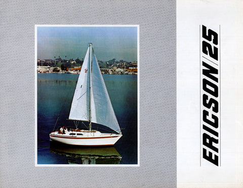 Ericson 25 Brochure Package (1970s)