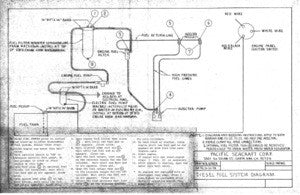 Pacific Seacraft 25 / Mariah 31 Diesel Fuel System Plan