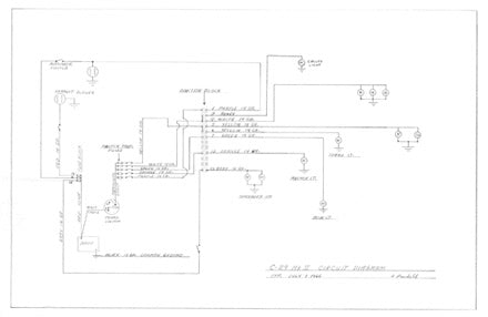 Columbia 29 Mark II Circuit Diagram