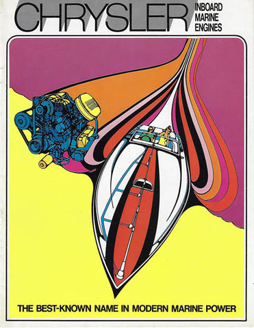 Chrysler 1971 Inboard Engines Brochure