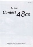 Contest 48CS Yachting World Magazine Reprint Brochure