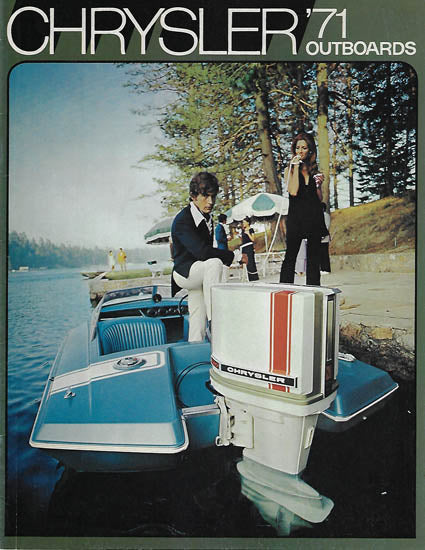 Chrysler 1971 Outboard Brochure