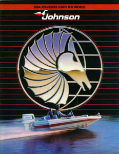Johnson 1984 Outboard Brochure