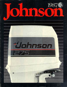 Johnson 1987 Outboard Brochure