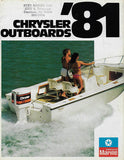 Chrysler 1981 Outboard Brochure