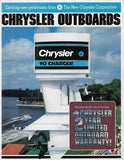Chrysler 1983 Outboard Brochure
