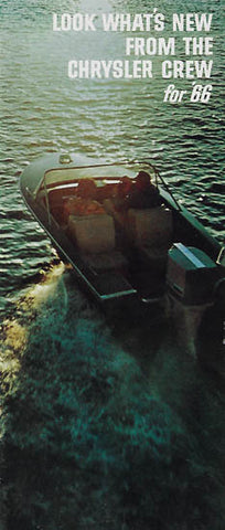 Chrysler 1966 Boats Brochure