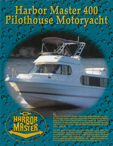 Harbor Master 400 Pilothouse Motoryacht Brochure