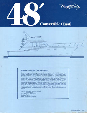 Unifilite 48 Convertible Specification Brochure