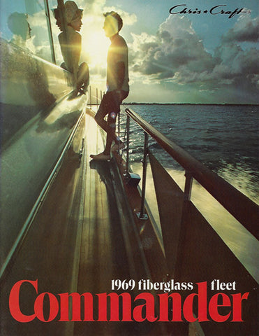 Chris Craft 1969 Commander Brochure