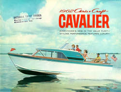 Chris Craft 1962 Cavalier Brochure
