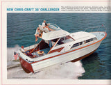 Chris Craft 1964 Challenger Brochure