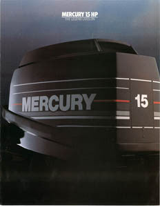 Mercury 15HP Outboard Brochure