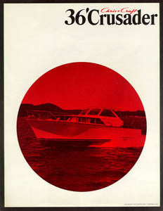 Chris Craft Crusader 36 Brochure