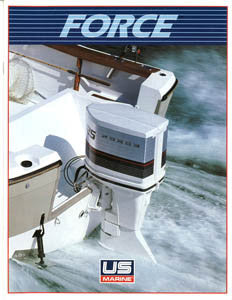 US Marine 1985 Force Outboard Brochure