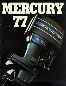 Mercury 1977 Outboard [Spanish] Brochure