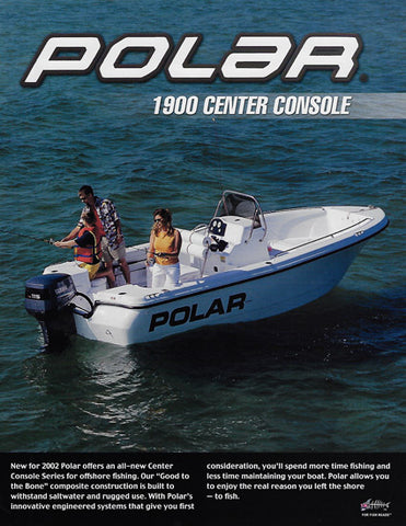Polar 1900 Center Console Brochure
