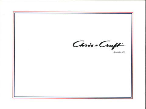 Chris Craft 2002 Brochure