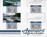 Aquasport 1980s Brochure Poster