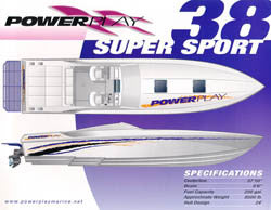 Powerplay 38 Super Sport Brochure