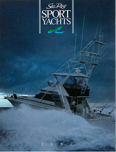 Sea Ray 1987 Sport Yachts Brochure
