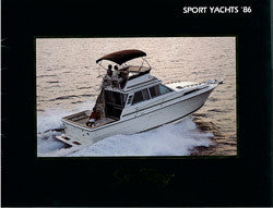 Sea Ray 1986 Sport Yachts Brochure