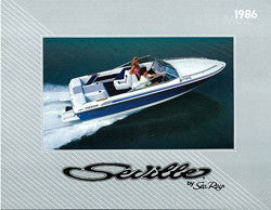 Sea Ray 1986 Seville Brochure