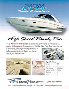 Powerquest 280 Sun Cruiser Brochure