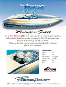 Powerquest Revenge 300 Brochure