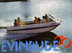 Evinrude 1970 Gull Wing Boats Brochure