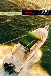Boston Whaler 1999 Abbreviated Brochure
