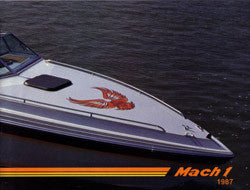 Mach 1 One 1987 Brochure