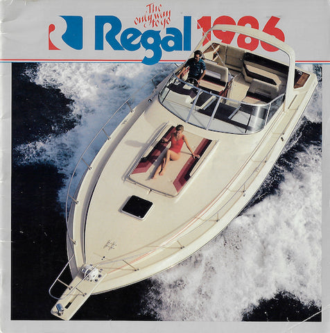 Regal 1986 Brochure