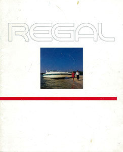 Regal 1992 Brochure