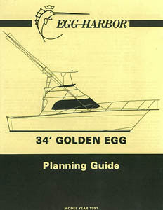 Egg Harbor Golden Egg 34 Specification Brochure
