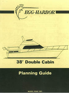 Egg Harbor 38 Double Cabin Specification Brochure