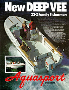 Aquasport 22-2 Family Fisherman Brochure