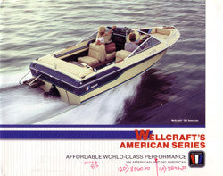 Wellcraft 1983 American Series Brochure