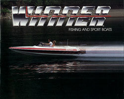Winner 1980s Fishing / Sport Boats Brochue