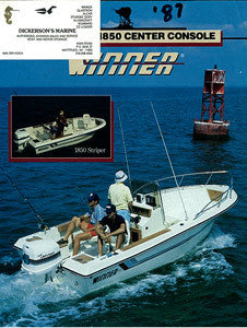 Winner 1850 Center Console Brochure