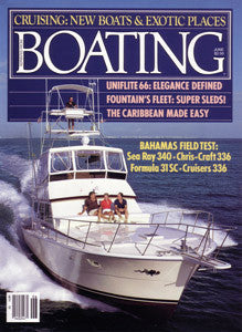 Fountain 31 Sports Cruiser Boating Magazine Reprint Brochure